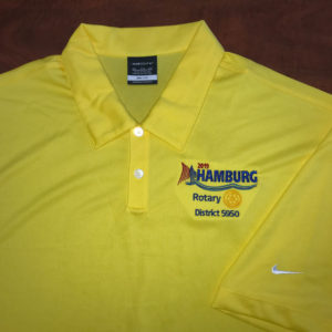 yellow rotary polo shirt